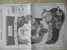 Medias de artesanía algodón Co panel de Adviento-instrucciones sobre panel-gran proyecto!