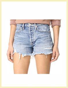1d5a2486 AGOLDE Parker Vintage Loose Fit Cutoff Shorts SHOPBOP SALE FAVORITES  #agdenim #agjeans #agolde #cutoffshorts #denimshorts #springstyle  #trendalert #shopbop ...