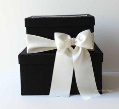 Wedding Card Box Money Box Wedding Box Gift by jamiekimdesigns
