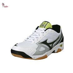 size 40 51f91 14b0a Mizuno - Wave twister 2 jr indoor - Chaussures sport en salle indoor -  Blanc -
