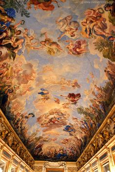Ceiling painting of the Giordano Gallery, Palazzo Medici Riccardi, Florence