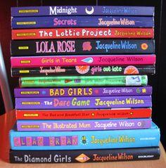 Jacqueline Wilson books (30 Day Book Challenge - Favourite Childhood Book)