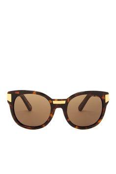 Women's Biscayne Round Cat Eye Sunglasses on HauteLook