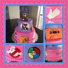 I love the 80's birthday cake!
