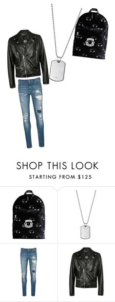 """""""Untitled #28"""" by candyvmo ❤ liked on Polyvore featuring Kenzo, Giorgio Armani, Scotch & Soda, Criminal Damage, mens, men, men's wear, mens wear, male and mens clothing"""