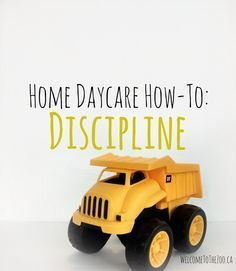 Great tips for when behaviour gets out of hand in home daycare. Also includes how to know when to terminate care. Daycare Setup, Daycare Organization, Daycare Rooms, Kids Daycare, Daycare Ideas, In Home Daycare, Daycare Crafts, Daycare Contract, Daycare Themes
