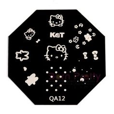I find an excellent product on @BornPrettyStore, Cute Cat Design Nail Art Stamp Template-QA12 at USD $2.99. http://www.bornprettystore.com/-p-4846.html