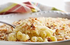 My hubby will love me forever! Low-Fat Baked Mac 'n' Cheese