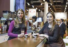 Stand corporativo Salón de Gourmets 2015. Baristas de Cafés Candelas.
