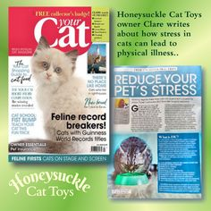 July's Your Cat Magazine has hit the shops! In this Issue I look at how stress in cats can lead to a disease called Feline Idiopathic Cystitis and why we should be keeping an eye on their toileting habits. 😿   #PetHealth #CatStress #Cats #Cat Cat Magazine, Cystitis, Happy Animals, Pet Health, Cat Food, Cool Cats, Stress, Shops, Eye