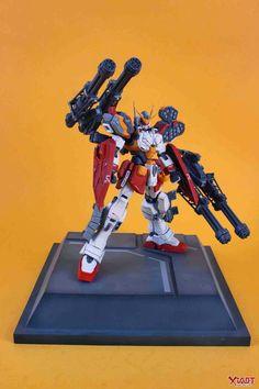 MG 1/100 Gundam Heavyarms - Customized Build     Modeled by 扭曲机器