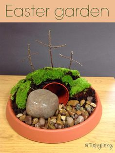 Make An Easter Garden With the Children to Remind Them What Easter ...