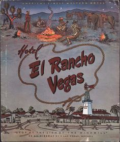"The Opera House Theatre Restaurant dinner menu for the El Rancho Vegas Hotel in Las Vegas, March 31, 1952.  Across the top it reads: ""America's Finest Western Hotel.""  Part of UNLV Libraries ""Menus: The Art of Dining"" digital collection."