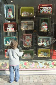 easter window display | Poppy and the Cath Kidston window display