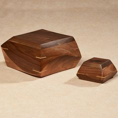 Our Woodsculpt hand carved cremation urns are uniquely crafted from premium Walnut wood into a gorgeous and spirited memorial. #cremation