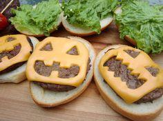 Halloween Cheeseburgers :)
