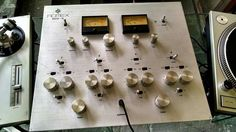 Pre-Bozak 1970s (possibly late 60s) Mexican Romex Disco 16 rotary DJ mixer.