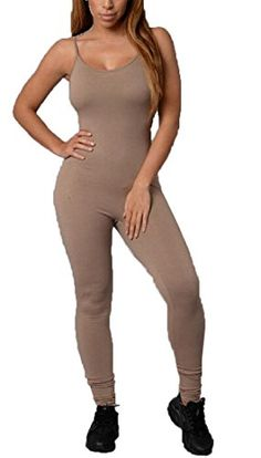 ARTFFEL-Women Casual Solid Sleeveless Plus Size Turtleneck Jumpsuit Rompers