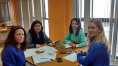 Intensa semana de trabajo. Hoy reunión en Écija con la concejal de Turismo, Fátima Espinosa, Lourdes y Mila, técnicos de turismo y María del Mar Torres, coordinadora de producto global de Tu historia con vista al 2016.