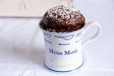 Schokoladiger Mikrowellenkuchen mit Nutella
