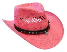 Harley Davidson Cowboy Hats Harley Davidson Hats, Harley Davidson Motorcycles, Coral Pink, Pink Color, Biker Chick, Southwest Style, Motorcycle Helmets, Headgear, Pretty In Pink