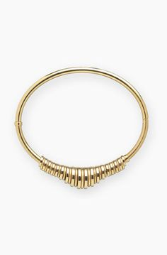 A gold choker instantly adds a dose of confidence to an outfit. Shop the 11 best statement pieces on the market, including this Chloé Freja Brass Collar Necklace here.