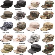 Army Style Ripstop Combat Field Baseball Cap Tactical Sun Hat Olive Green S-XXL