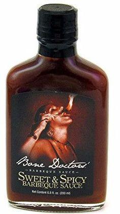 Bone Doctors' Sweet & Spicy Barbeque Sauce 6.8 fl oz