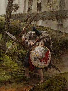 Wolf Clan Warrior Art