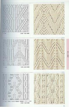 Kira knitting: Knitted pattern no. 62