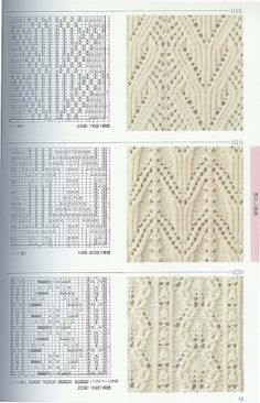 Kira knitting: Knitted pattern no. 62