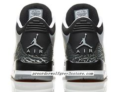 Cheap Air Jordan 3 (III) Retro Wolf Grey Metallic Silver-Black-White shoes discount  sale from air jordans store. 61e464f15