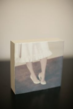 encaustic painting & photographs