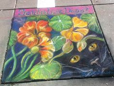 Pastel drawing for pastels on 5th event , October 2013 . Loveland  Colorado