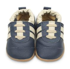 Navy Cream Boys Trainers  www.shooshoosuk.com Trainers, Baby Shoes, Smileys, Beige, Navy, Boys, Clothes, Cream, Fashion