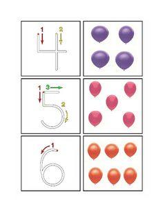 Balloon nmmbers 4-6