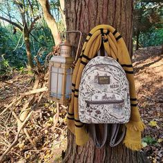 """Lyndsey ⚡ on Instagram: """"I'm a Hufflepuff who loves to explore so I know I'd spend a lot of time sneaking around the Forbidden Forest, making friends with all the…"""" Forbidden Forest, Hufflepuff Pride, Fashion Backpack, Explore, Love, Friends, How To Make, Bags, Instagram"""