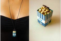 Junk - Pop-Corn - Very Limited handmade jewels by Morgane Morel