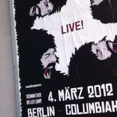 Kasabian live in Berlin.