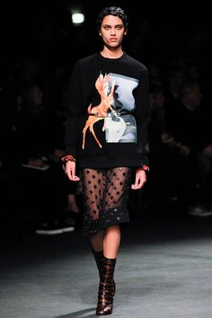 Givenchy Otoño/Invierno 2013 Semana de la Moda de París ….. Givenchy Autumn/Winter 2013 Paris Fashion Week
