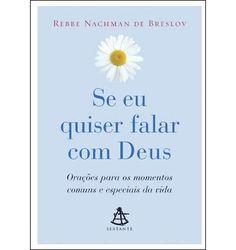 Livro - Se eu Quiser Falar com Deus por R$6,99