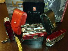 Mario's Swiss Army Knives: Victorinox SwissChamp XLT and XAVT - The Big ones!