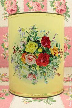Vintage Home - Splendour of Roses Kitchen Storage Tin.