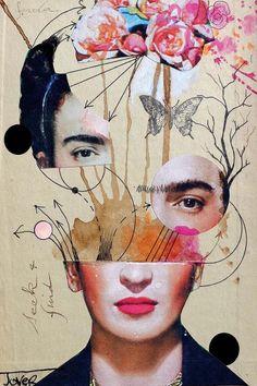 Collage Kunst, Collage Art Mixed Media, Pop Art Collage, Nature Collage, Collage Portrait, Dada Collage, Collage Artwork, Collage Design, Portraits