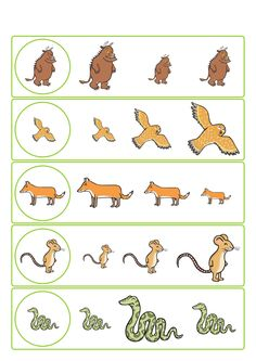 story sequencing the gruffalo free printable sequencing cards school pinterest. Black Bedroom Furniture Sets. Home Design Ideas