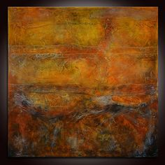 Contemporary Red Large Painting Abstract Painting by Andrada, $800.00