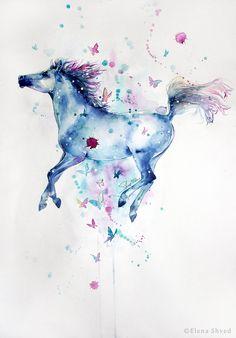 21 flying horse by ElenaShved on deviantART