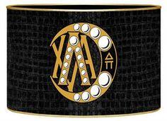 LB2003 - Lambda Chi Alpha Badge Letter Box $28.00 #LambdaChiAlpha #LambdaChi