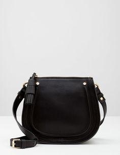 The Mini Saddle Bag (Black)