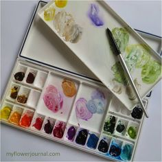 I want to share with you my favorite watercolor paint colors and the palette I…